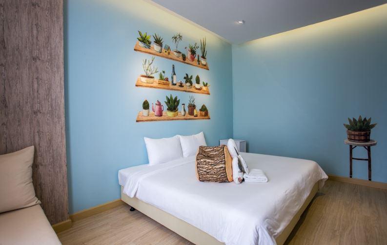 χρώμα δωματίου γαλάζιο
