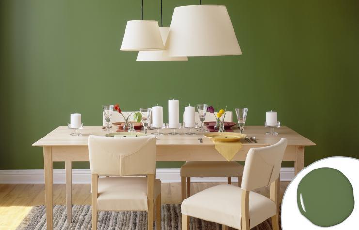 τραπραπεζαρία πράσινο χορταριού