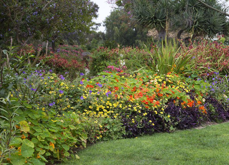 ΄μεταμόρφωση κήπου παρτέρια