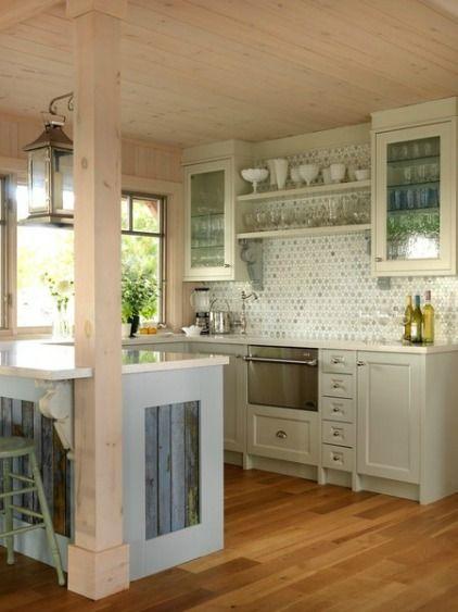 ιδέες για μικρές κουζίνες
