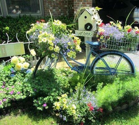 βίντατζ ποδήλατο για κήπο