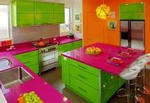 χρώματα κουζίνας