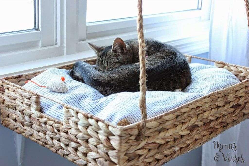 κρεβάτι για γάτες