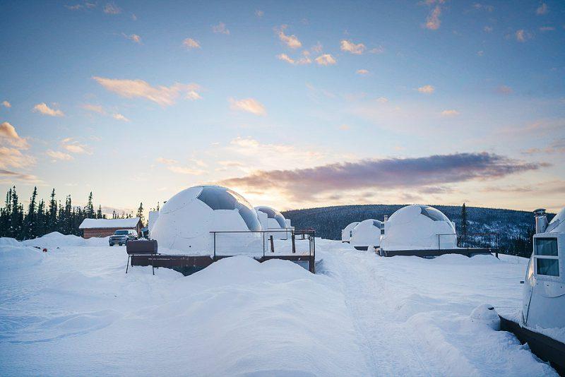 ξενοδοχεία στον πάγο Αλάσκα
