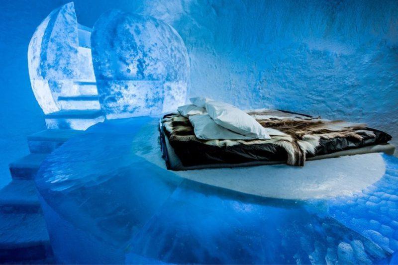 ξενοδοχεία στον πάγο Σουηδία