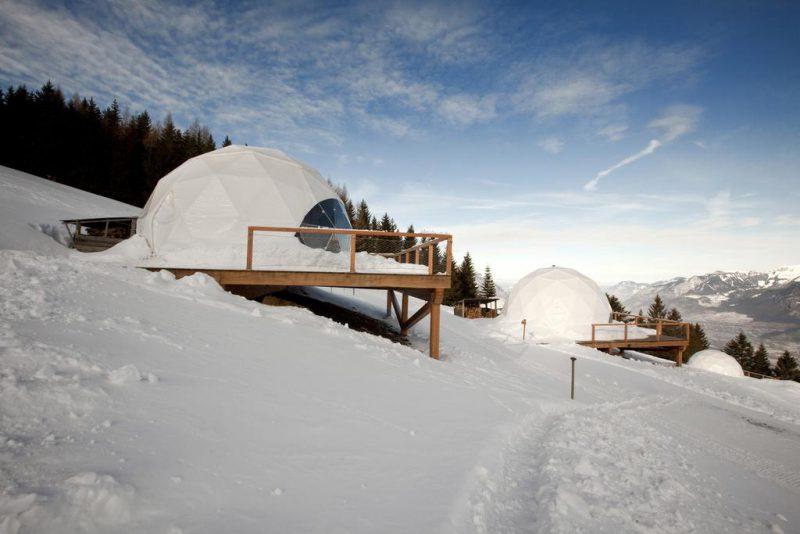 ξενοδοχεία στον πάγο Ελβετία