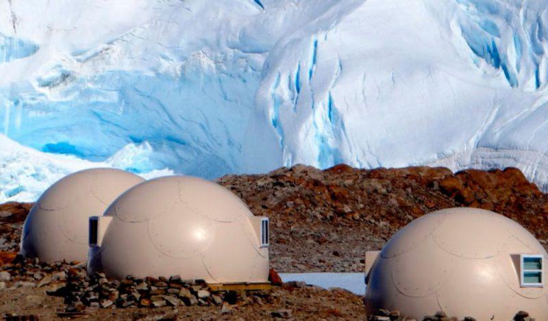 ξενοδοχεία στον πάγο Ανταρκτική