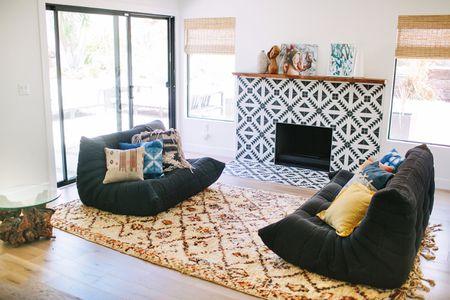 μοναδικές ιδέες για το τζάκι Μαροκινό πλακάκι
