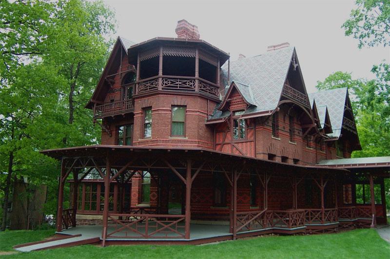 σπίτια συγγραφέων Μαρκ Τουαίην