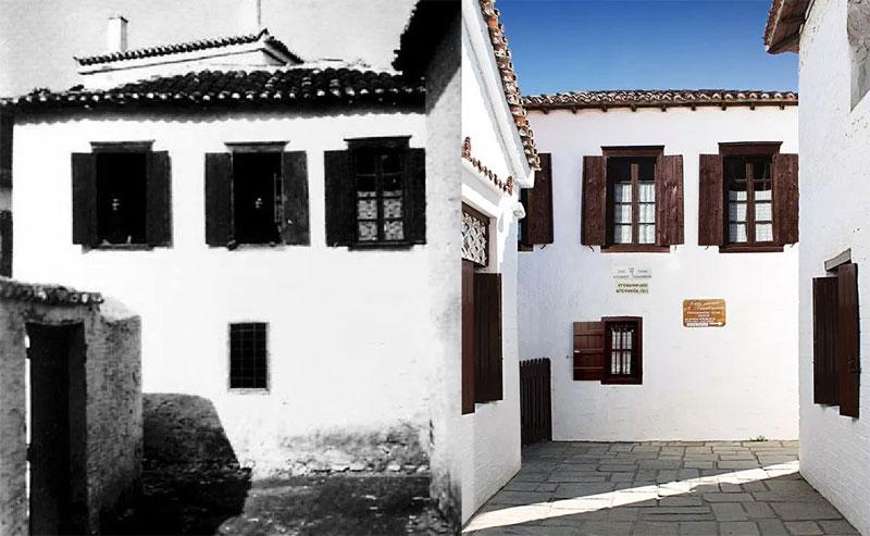 σπίτια συγγραφέων Αλέξανδρος Παπαδιαμάντης