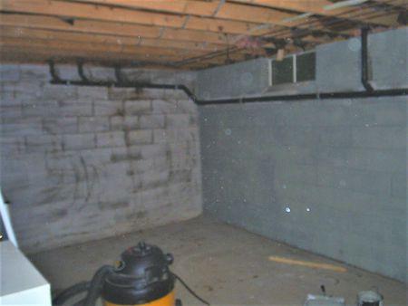 υπόγεια πριν και μετά μη κατοικίσιμο