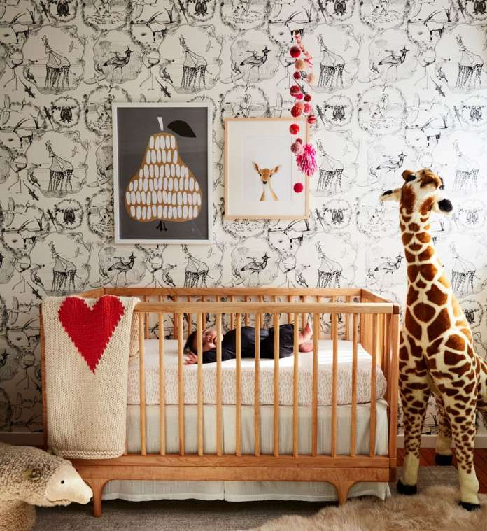 παιδικό δωμάτιο με ζωάκια