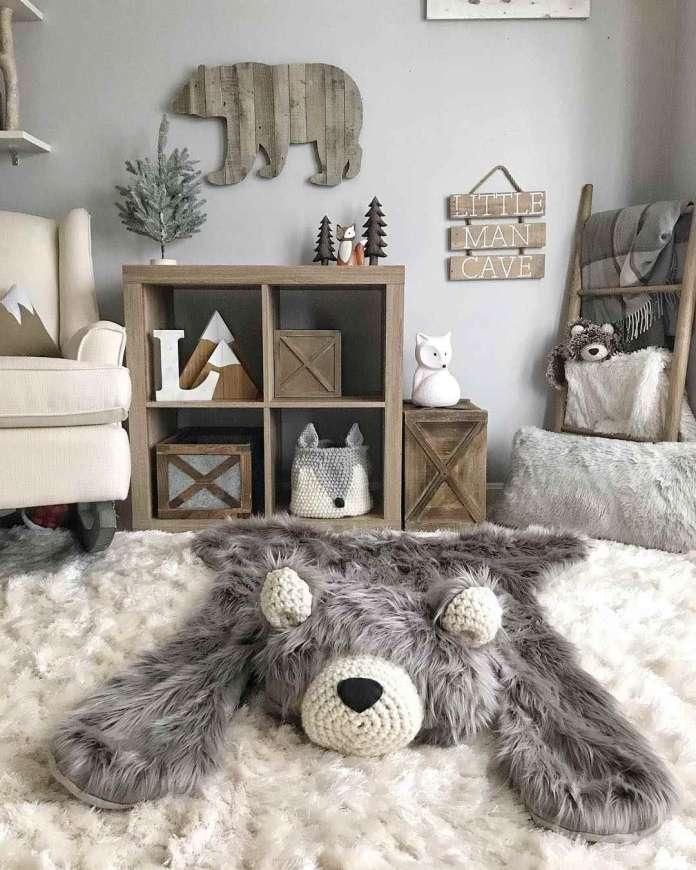 παιδικό δωμάτιο αρκουδίτσες