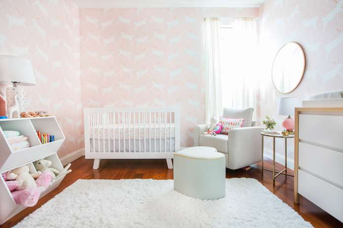 παιδικό δωμάτιο λαγουδάκια